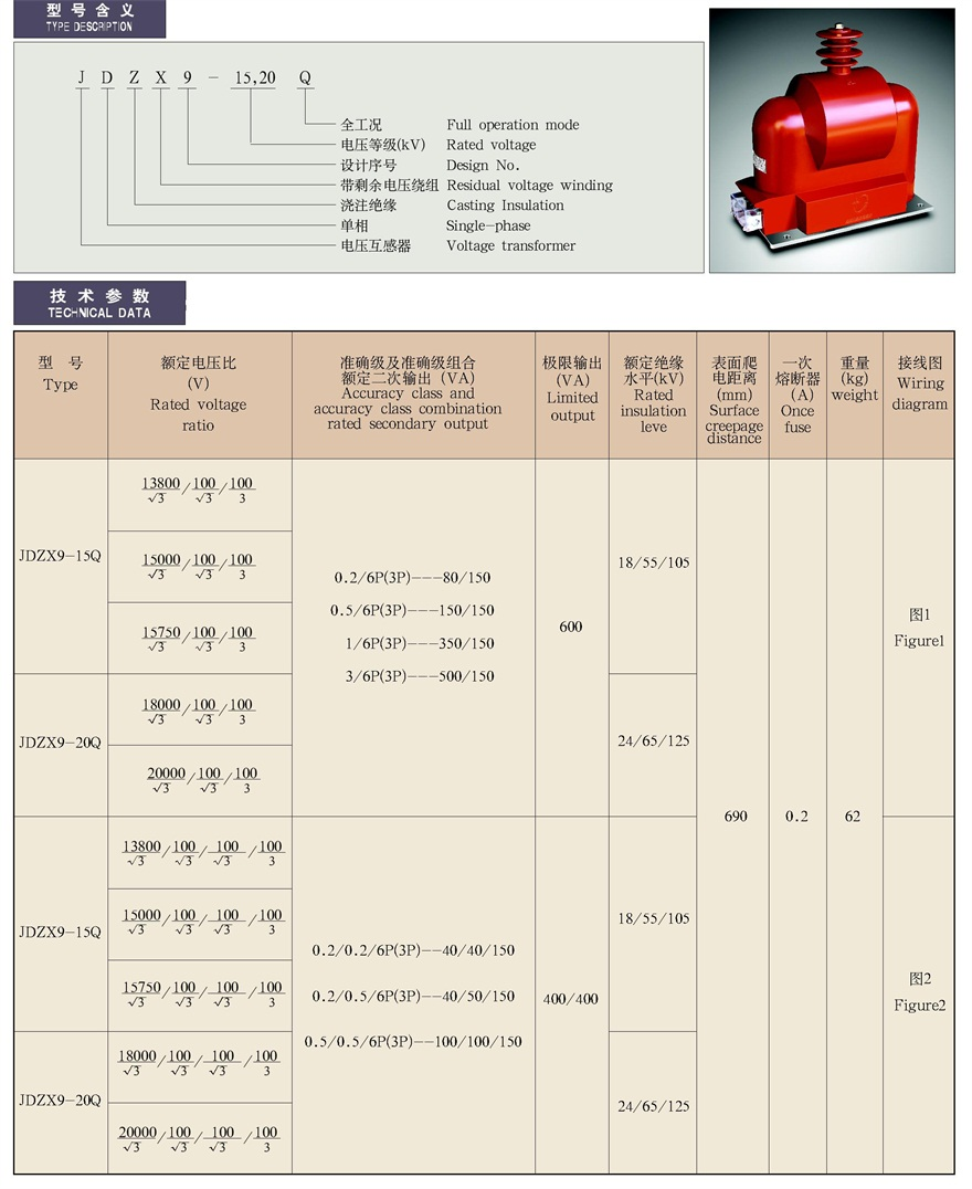 Jdzx9 1520q Dalian North Instrument Transformer Group Co Ltd Wiring Diagram Previousjdzx9 1520qcgcgng